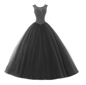 Vestido De Debutante Princesa Formatura 15 Anos Baile Rm41