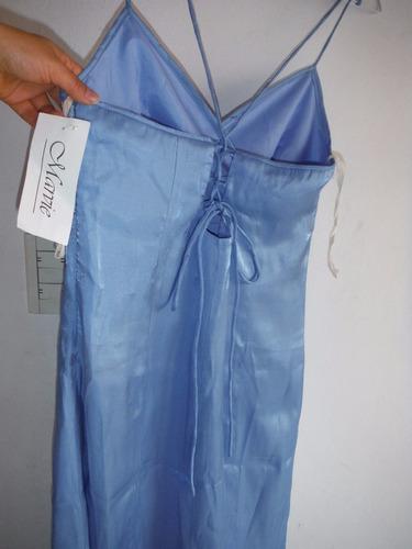 vestido de egresada importado