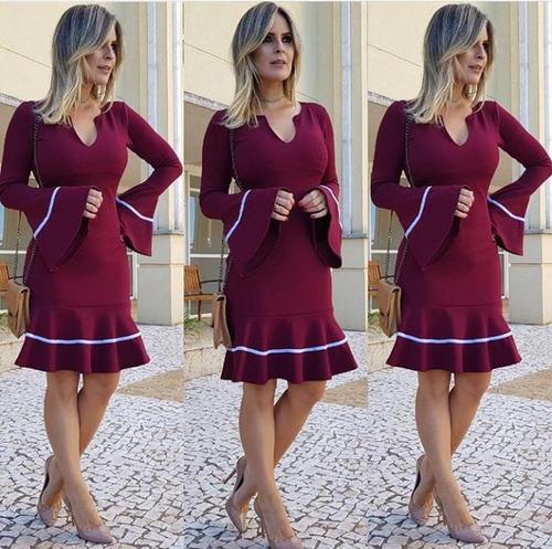 vestido de elastano