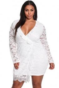 Vestidos Blancos Cortos Encaje Corto De Mujer En Tabasco