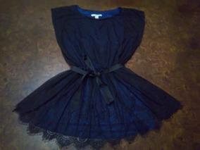 eef2dc5208 Lindo Vestido Azul Mango Talla L Dmm Vestidos - Vestidos en Mercado ...