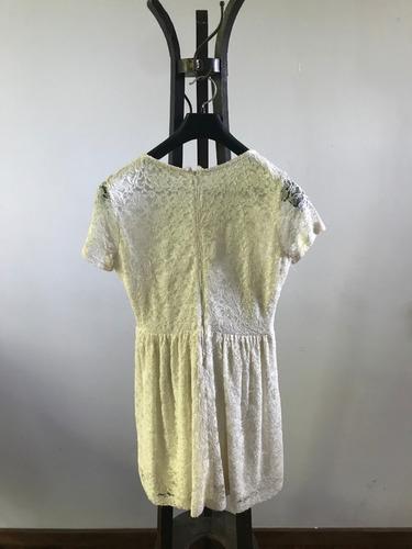 vestido de encaje para adolescente
