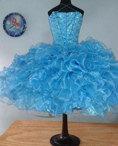6ce90aaa3b Vestidos de salida de sexto azul turquesa - Vestidos mujer