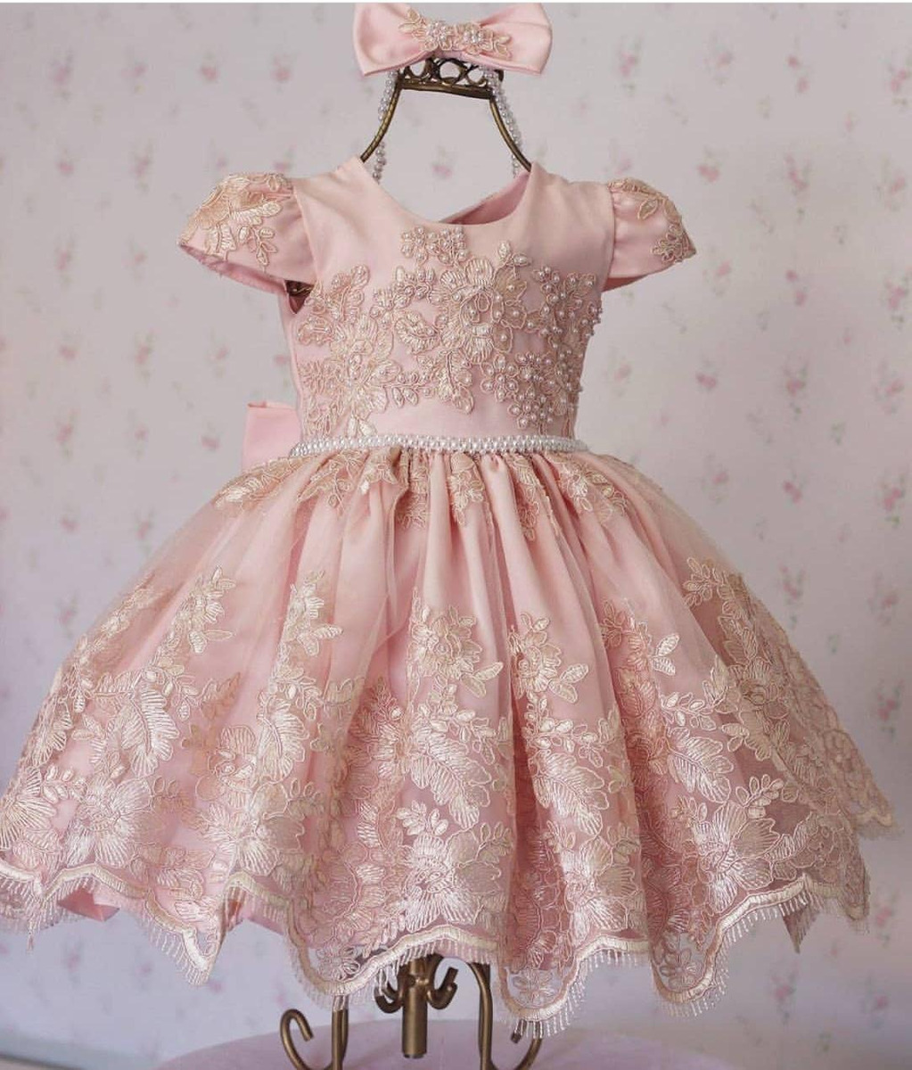 33a61b0045 vestido de festa 1 ano (aniversário ou dama) pronta entrega. Carregando zoom .
