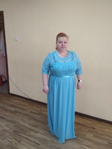 2ebcdd168a Vestido De Festa Azul Tiffany Plus Size Madrinha Mãe Noivo - R  269 ...
