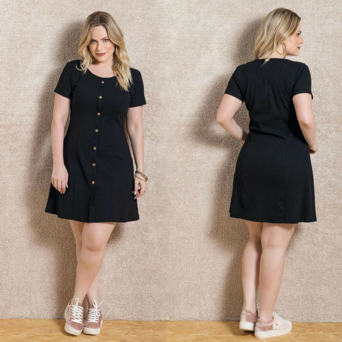 80fdf6655 vestido de festa barato plus size preto para gordinha linda. Carregando zoom .