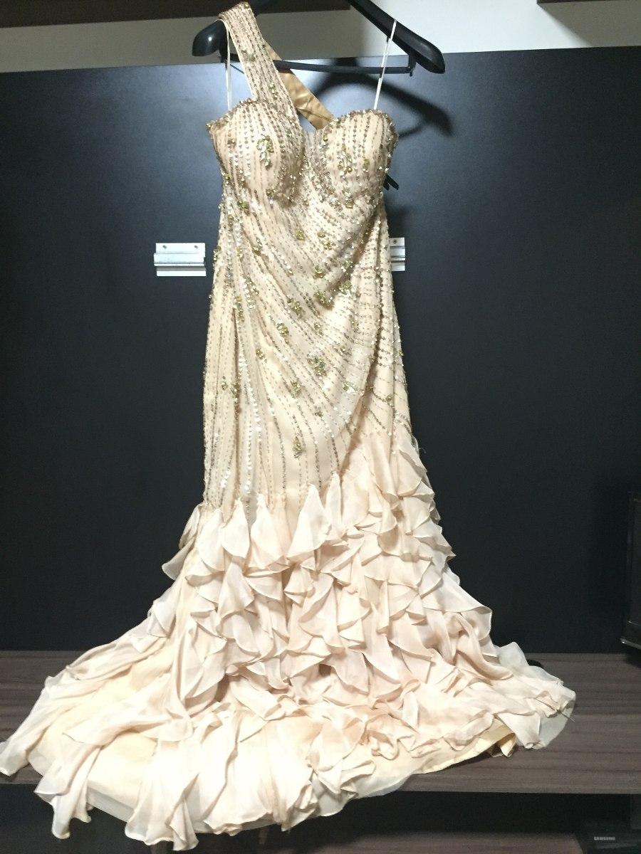 795f9f9b1 Vestido De Festa Bordado Com Pedrarias - Forever - R$ 850,00 em ...