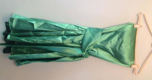 vestido de festa curto esmeralda - cityclass - t: 42 - c.433