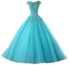 58e79f11dbfe Vestido Verde Tiffany 15 Anos De - Vestidos Femeninos com o Melhores Preços  no Mercado Livre Brasil