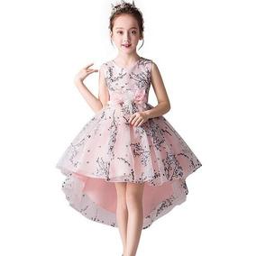 7f72c372ff508c Vestido De Festa Infantil Para Meninas De 2-11 Anos De Idade