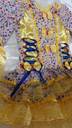 vestido  de festa junina  quadrilha  caipira  chic