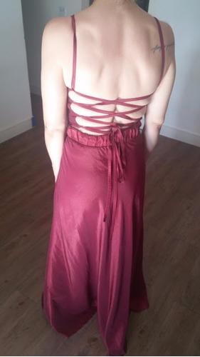 vestido de festa longo adriana mattos tamanho m