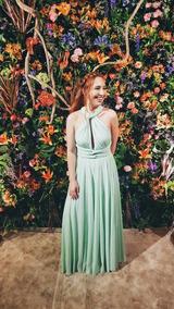 7c5ecb5a6 Vestido Verde Menta - Vestidos Longos Femininas no Mercado Livre Brasil
