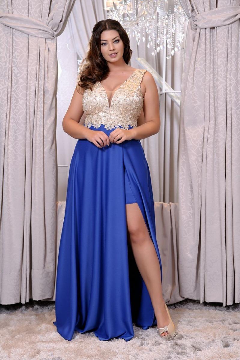 5d0e12be0229 Vestido De Festa Marsala Plus Size/madrinha/casamento - R$ 799,90 em ...