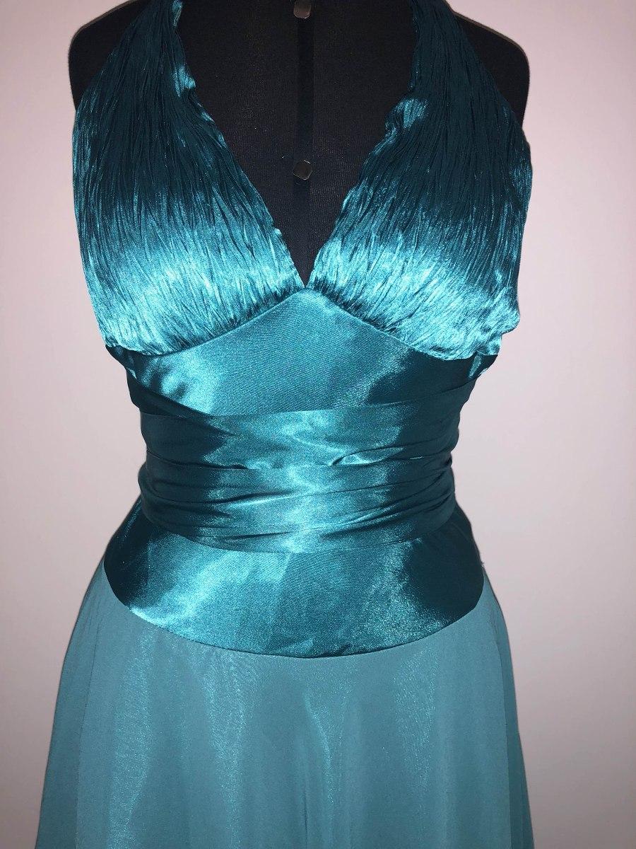 f7c3ceb9747d Vestido De Festa Na Cor Verde Tiffany Tam40/42. Cor Da Moda!
