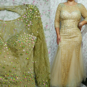 425696687 Vestido Longo Pedraria - Vestidos Longos Femininas no Mercado Livre Brasil