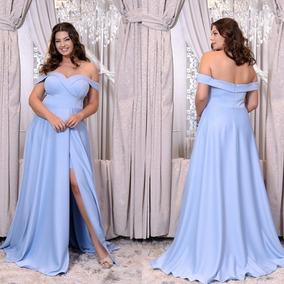8e50e607a Vestido Madrinha Casamento Azul Serenity - Vestidos Longos Femininas no  Mercado Livre Brasil