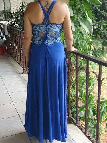 vestido de festa - usado só uma vez