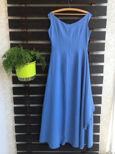 4451a34bce8411 Vestido De Festa/formatura Longo Azul - Tam G