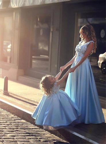 vestido de festa/noiva mãe e filha
