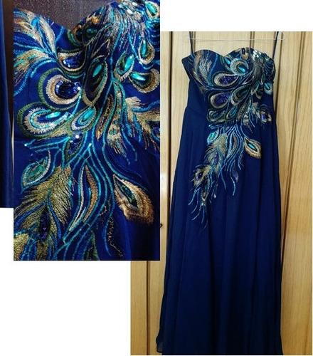 vestido de fiesta 0101178  elbauldecorina