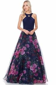 Vestido Para Noche Mexicana Vestidos De Mujer Vestidos De