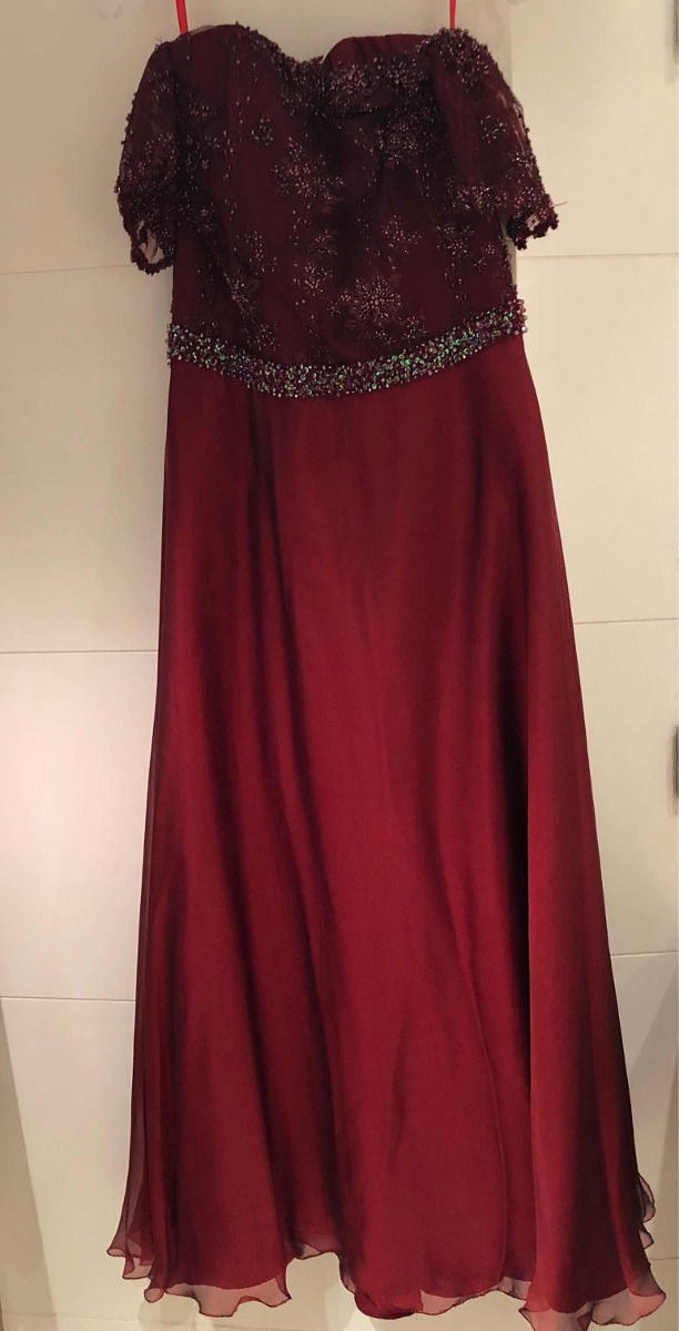 722cf6afea vestido de fiesta-alta costura by camila paz xl. Cargando zoom.
