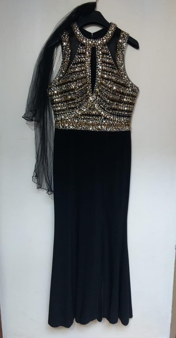 01f24a91a7 vestido de fiesta alta costura importado. Cargando zoom.