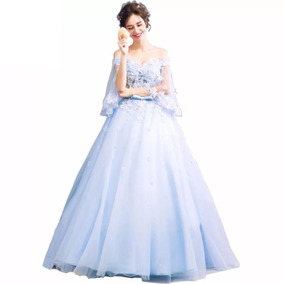 Para Vestido Fiesta Mujer Claro Cóctel Vestidos De Lino Azul n0Nvm8w