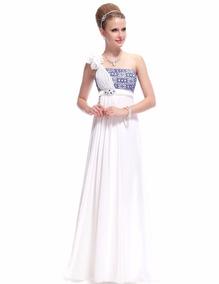 Vestidos de fiesta blanco santiago