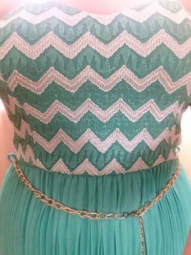 vestido de fiesta color azul barato