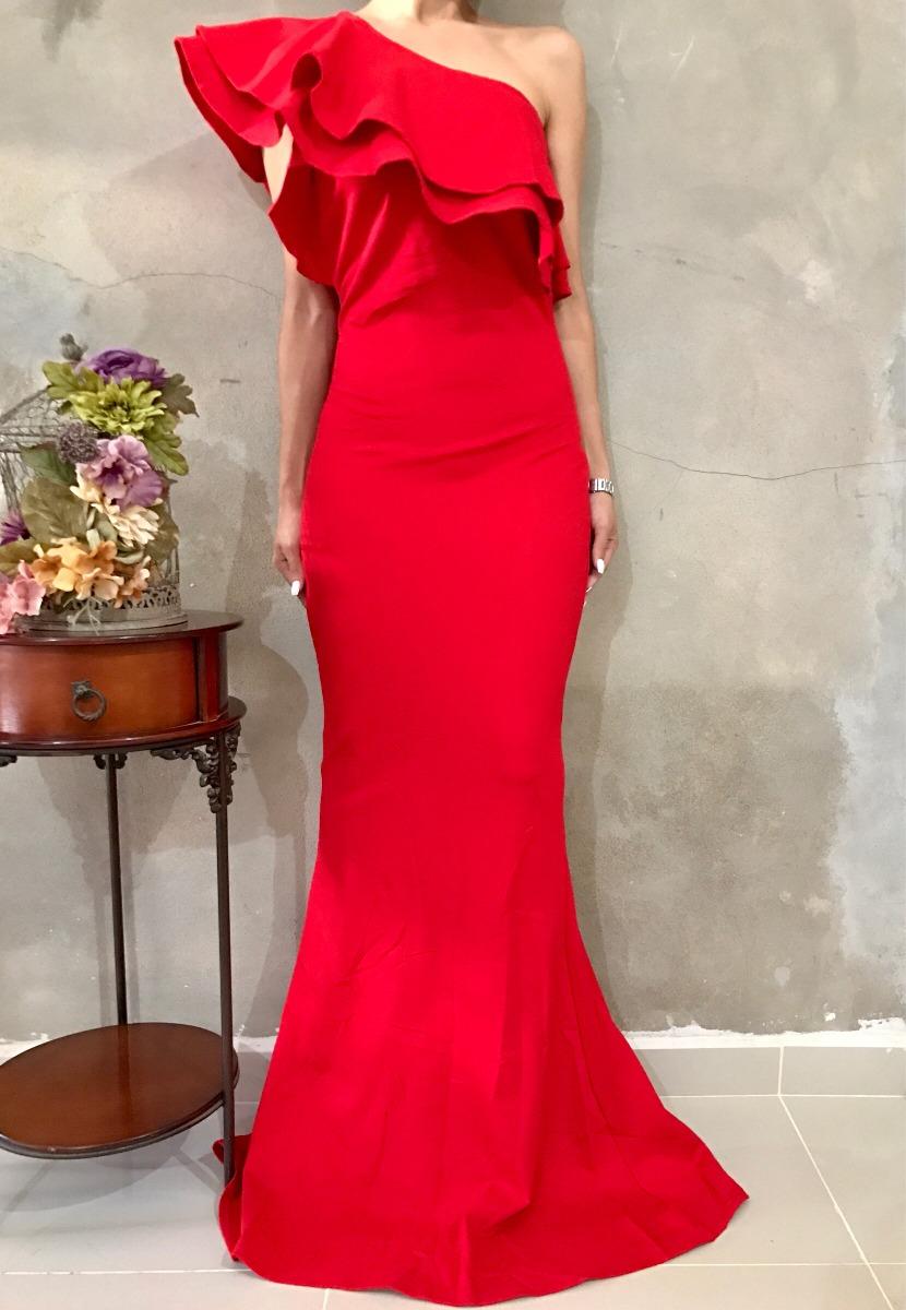 Vestidos de noche color rojo mercadolibre