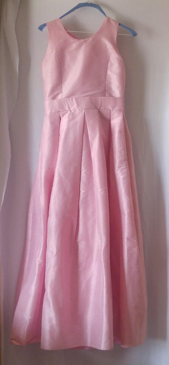 Vestido De Fiesta Color Salmon Talla 12 - $ 499.00 en Mercado Libre