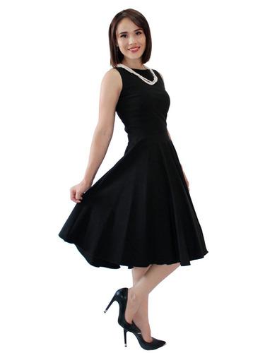 vestido de fiesta corte medi elegante  envío gratis 2281