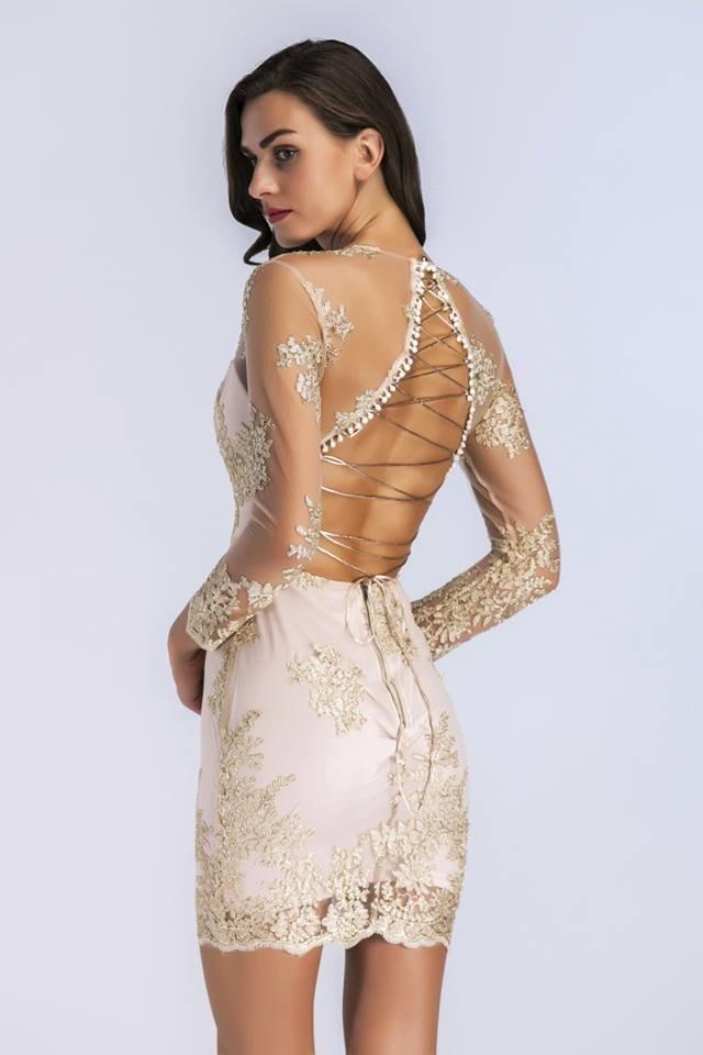 Vestido De Fiesta Corto 2018