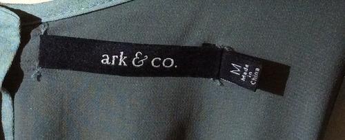 vestido de fiesta corto color turquesa marca ark & co