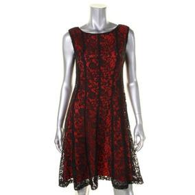 40284d755 Vestido De Fiesta Corto Encaje Rojo. Envío Gratis! Serenity