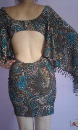 vestido de fiesta corto marca exotic