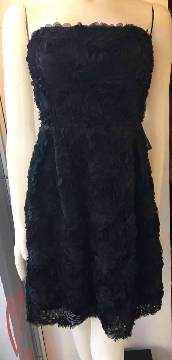 Nuevo Zoom Zara Flores Vestido Corto Negro Fiesta Cargando Tul De xqw0S1H b7d2baa606e3