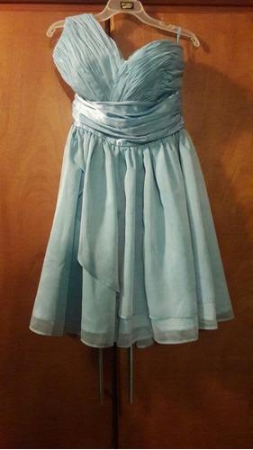 vestido de fiesta corto talla s
