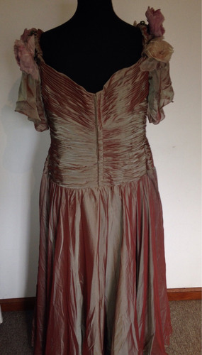 vestido de fiesta de alta costura, a medida, large!