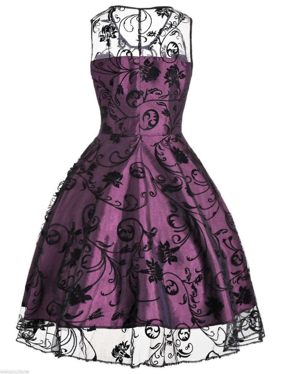 Vestido De Fiesta De Tull Estilo Retro Tallas Xl Y 2xl - $ 24.000 en ...