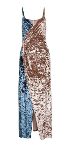vestido de fiesta elegante, gala, en terciopelo 91
