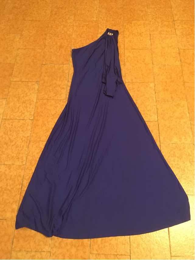 dc56755bfd6 Vestido De Fiesta Elegante Para Mujer Talla L - 16us Azul - Bs ...