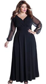 Vestido De Fiesta Elegante Tallas Extras 1403