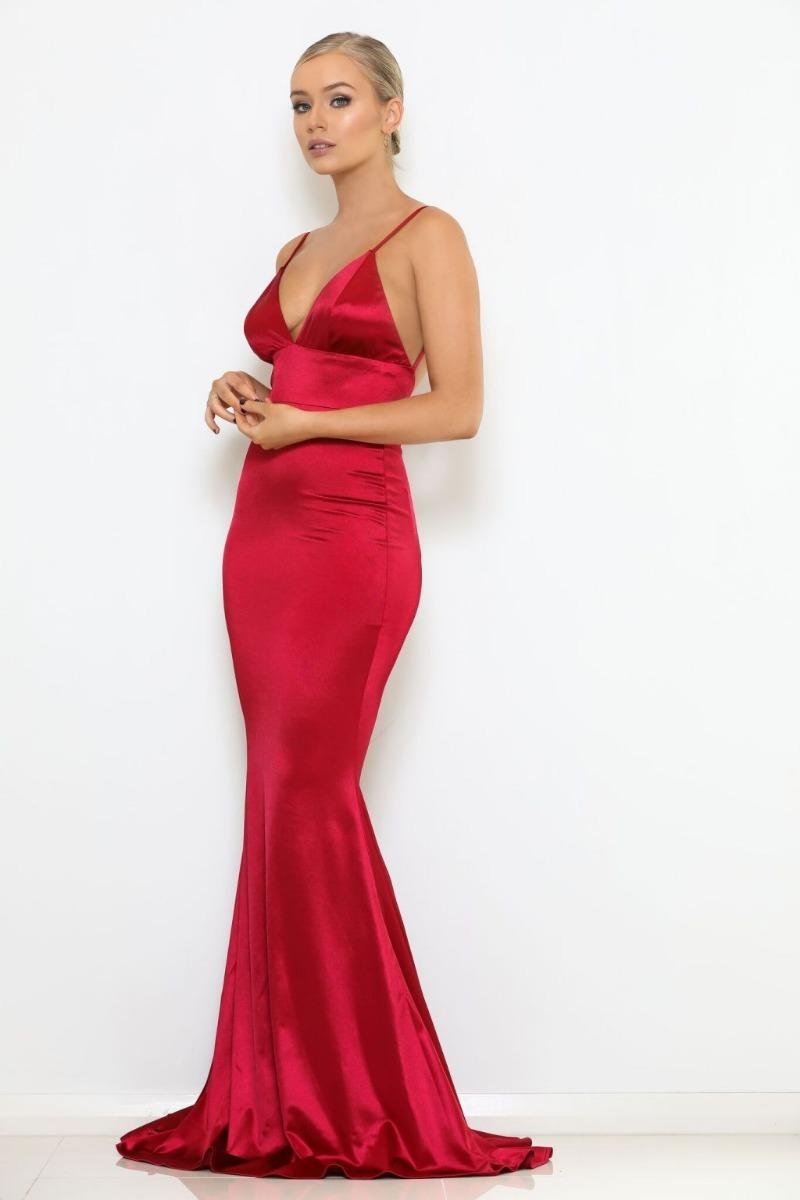 bb59bfcc8 vestido de fiesta elegante coctel con cola sirena. Cargando zoom.