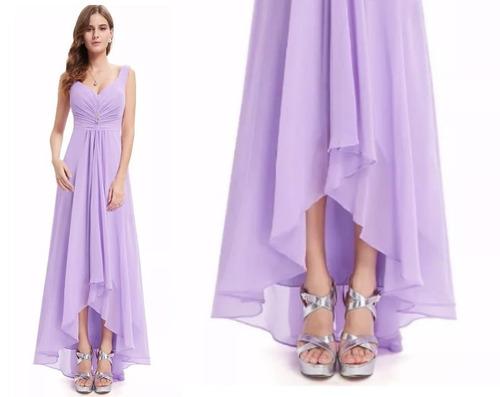 vestido de fiesta - gala (0101138)  elbauldecorina