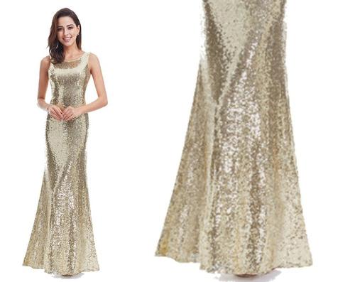 vestido de fiesta - gala (0101141)  elbauldecorina