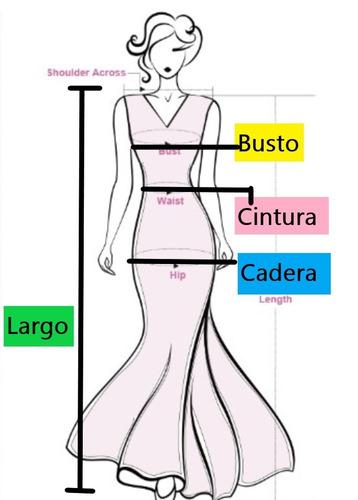 vestido de fiesta - gala - noche  (0101135)  elbauldecorina