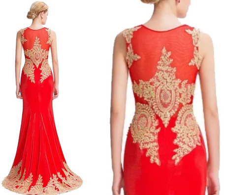 vestido de fiesta - gala - noche 0101174  elbauldecorina